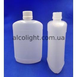 Фляга пластиковая 200 мл с крышкой, 28 мм, РА, (код 5039)