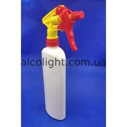 Бутылка для антисептика 500 мл триггер, РА, (код 2201)