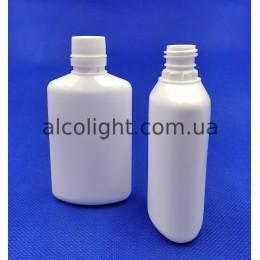 Бутылочки овальные 50 мл с крышкой, РА, New, (код 3027)