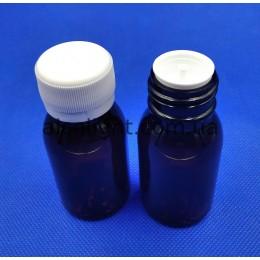 Коричневые бутылочки 50 мл, ПГ, (код 3033)