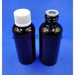Бутылочки косметические пэт 50 мл, ПГ, (код 3025)