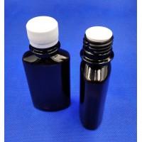 Бутылочка коричневая 100 мл с крышкой и вставкой, 28 мм горловина, ЗП, (код 4012)