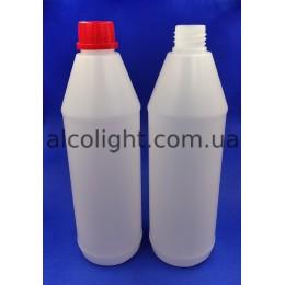 Бутылка с крышкой 1 литр, РА, (код 1406)