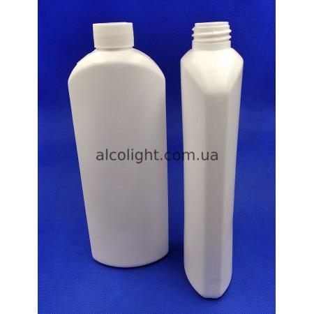 Бутылка белая 500 мл, тара 0,5 литра, РА, (код 6006)