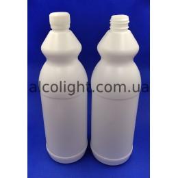 Бутылка пластиковая 1 литр, РА, (код 1405)