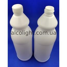 Бутылка пластиковая 1 литр с дозатором и крышкой, РА, (код 1404)