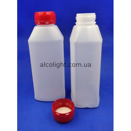 Бутылка 500 мл со шкалой, АС, (код 6005)