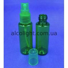Флакон 35 мл спрей зеленый, МФ, (код 8014)