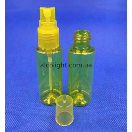 Флакон 35 мл спрей желтый, МФ, (код 8013)