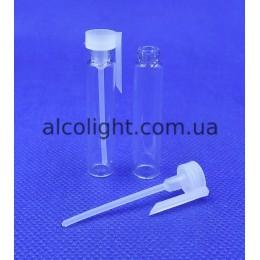 Флакон 2 мл стеклянный, пробник 2 мл стекло, КИТ, (код 11002)