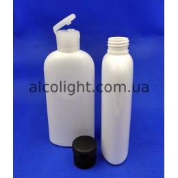 Бутылочки белые флип-топ 200 мл, ПГ, рим, (код 1504)