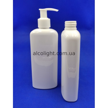 Флакон белый дозатор мыла 250 мл, эли , (код 1111)
