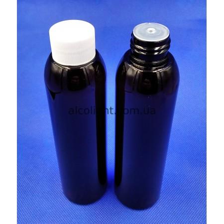 Косметическая бутылочка 150 мл с заглушкой и крышкой, ПГ аэр , (код 4027)